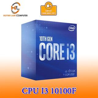 CPU Intel Core i3 10100F 3.6GHz up to 4.3GHz, 4 nhân 8 luồng socket 1200 Chính hãng Viễn Sơn Phân Phối