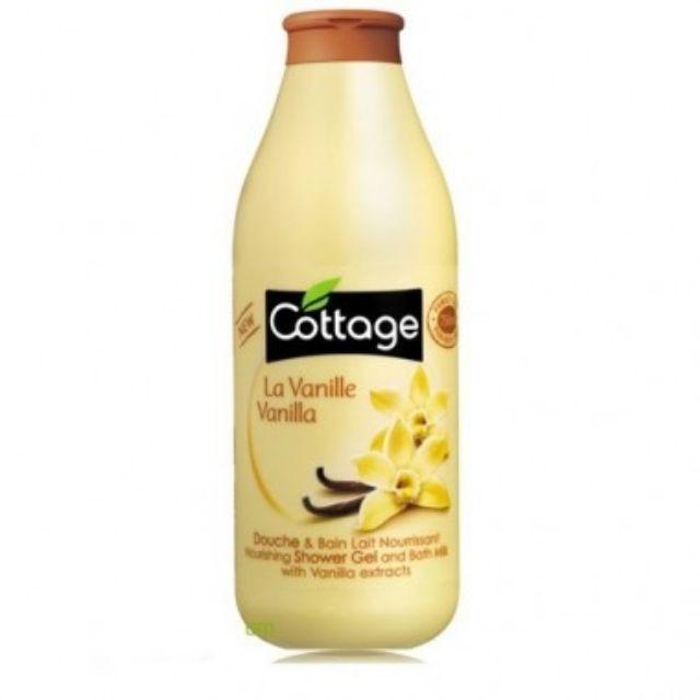 [Rẻ Nhất Shopee]Sữa Tắm Cottage Hương La Vanille Vanilla 750ml