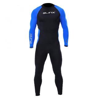 Bộ đồ lặn biển 1 mảnh dài SLINX độc đáo tiện dụng dành cho nam màu xanh thumbnail