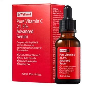 Serum Dưỡng Trắng Trị Thâm By Wishtrend Pure Vitamin C21.5
