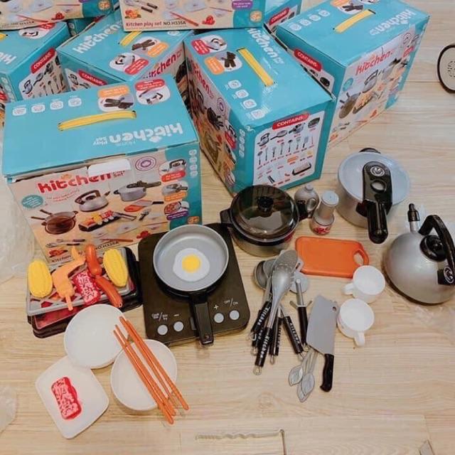 Bộ đồ chơi nấu ăn 36 chi tiết