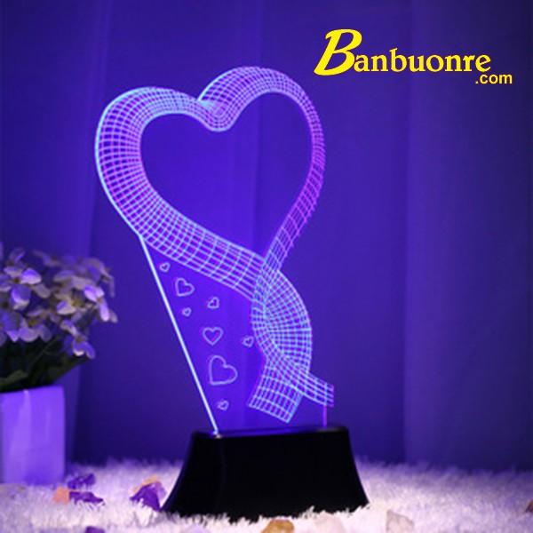 [XẢ KHO 3 NGÀY]  Đèn ngủ 3D, đèn trang trí, quà tặng sinh nhật ý nghĩa
