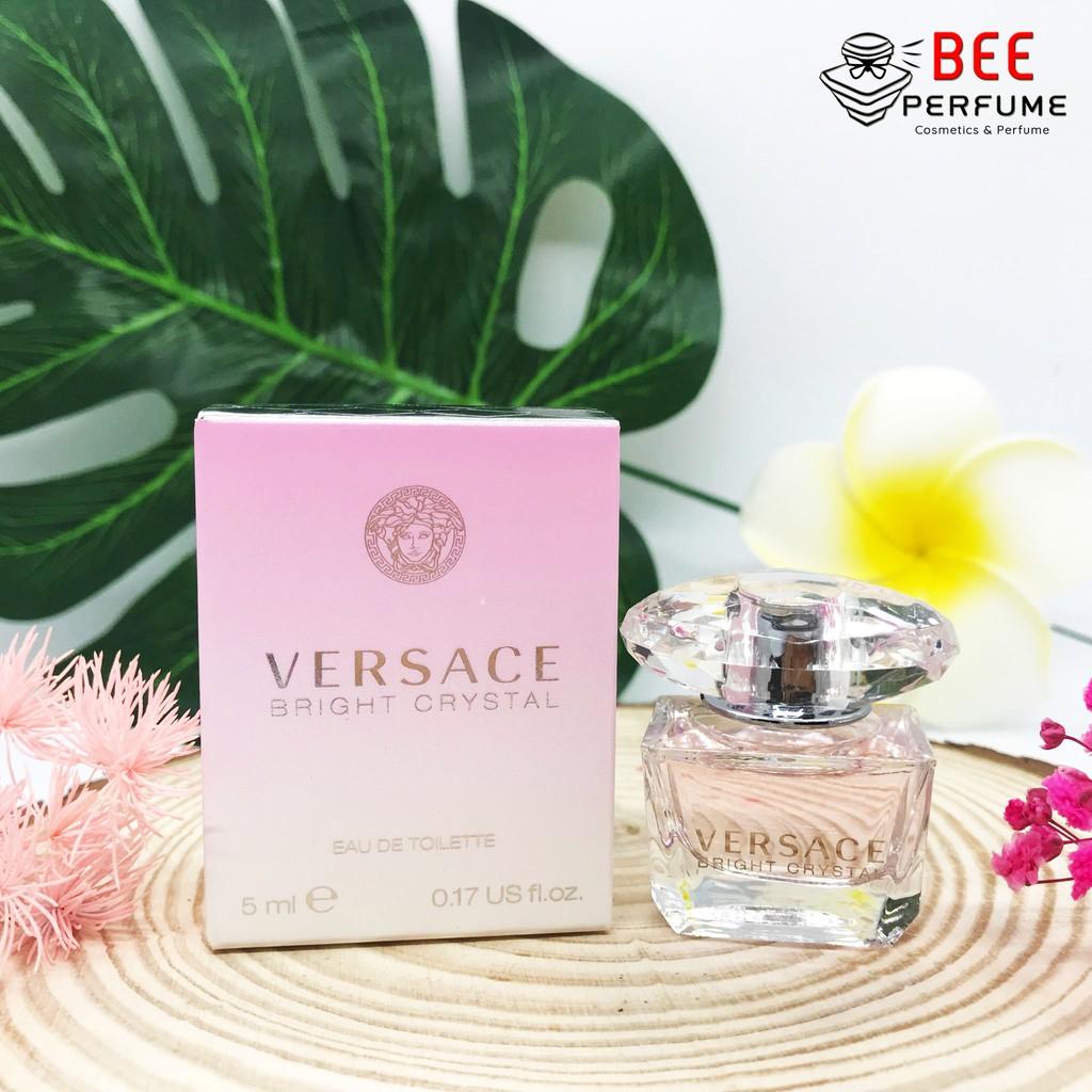 Nước Hoa Mini Versace Bright Crystal EDT 5ml [CHÍNH HÃNG] cho nữ, ngọt ngào