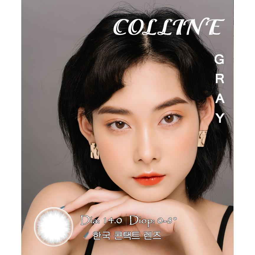 COLLINE GRAY - Kính áp tròng Hàn Quốc