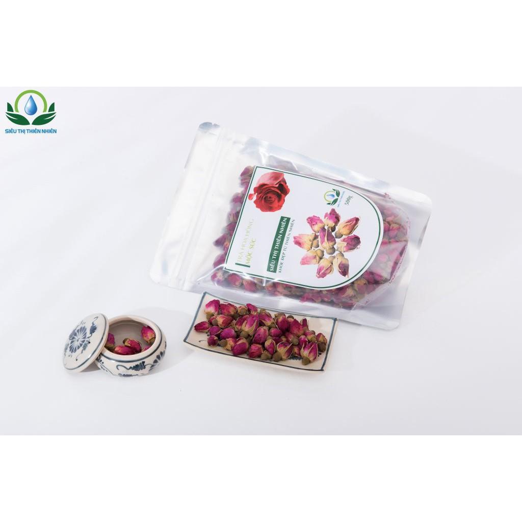 Trà hoa hồng sấy khô Mộc Sắc gói 100g