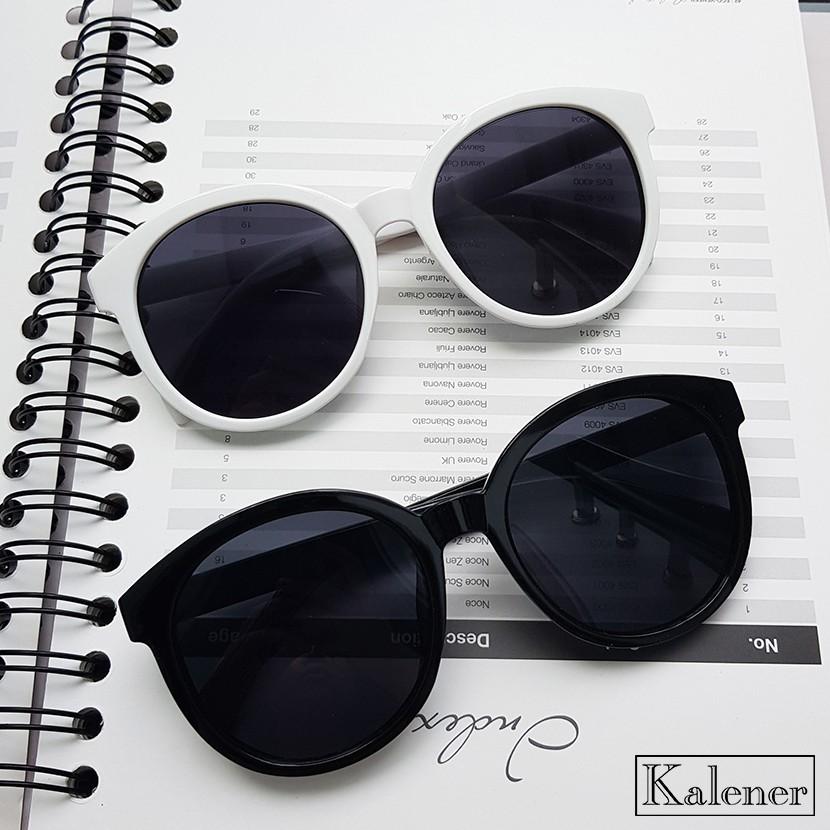 Gọng kính mắt thời trang nam nữ - Kính râm gọng tròn với tròng chống tia UV400 cao cấp