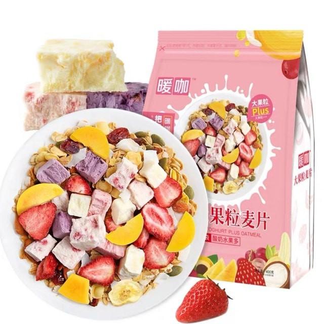SẴN HÀNG - Ngũ cốc hoa quả, sữa chua giảm cân ăn kiêng túi 500g