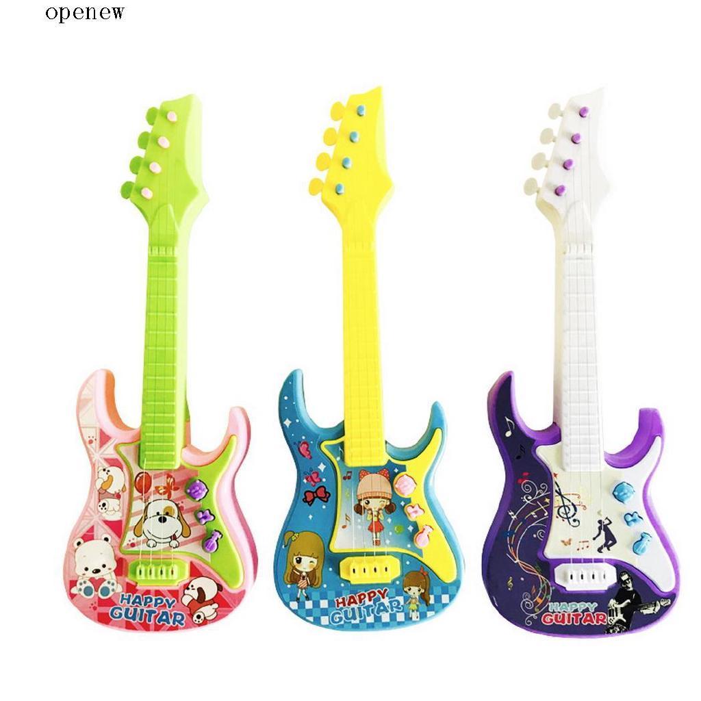 op Children Cute 3-in-1 Musical Toy Mini Toy Guitar