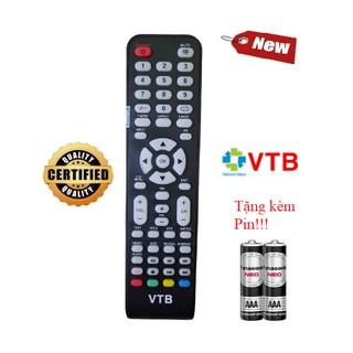 [Mã ELFLASH5 giảm 20K đơn 50K] Điều khiển tivi VTB- Hàng mới chính hãng 100% Tặng kèm Pin
