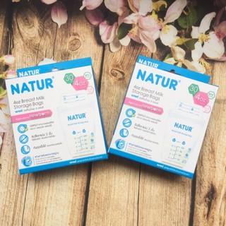 Combo 2 hộp túi trữ sữa Natur Thái Lan 120ml(hộp 30 tui