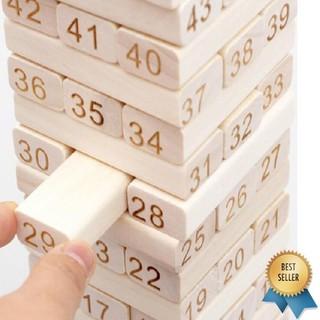 Bộ đồ chơi rút gỗ 48 thanh to – RẺ NHẤT HÀ NỘI