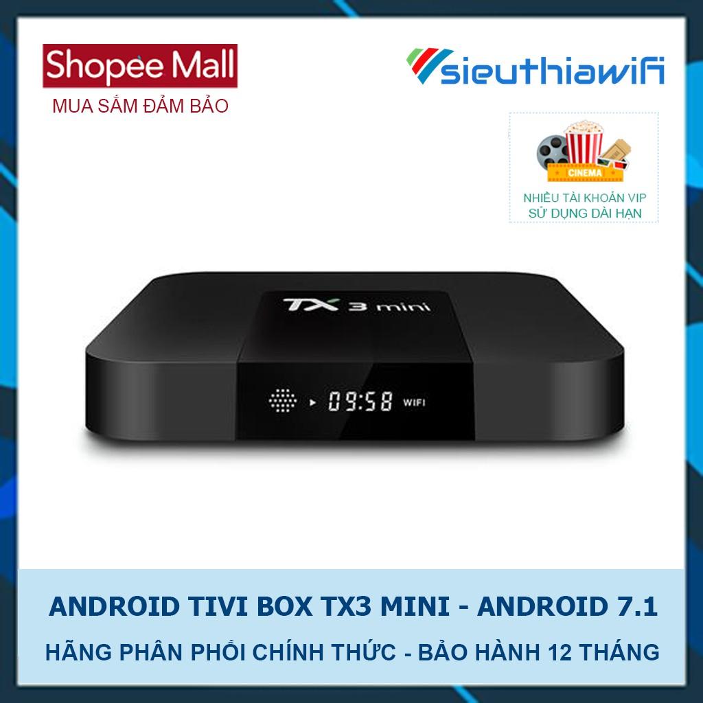 ANDROID TIVI BOX TX3 MINI - GIẢI TRÍ CHO TIVI