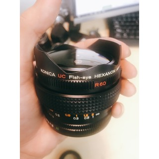 Ống kính MF Konica UC Fish-eye Hexanon AR 15mm F2.8 thumbnail