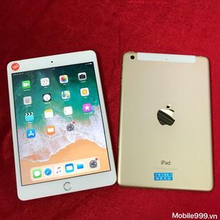 IPAD Mini 3 Gold Wifi 4G nguyên bản likenew 99%