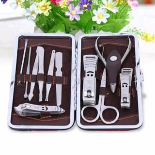 Bộ kìm cắt móng tay 12 món đa năng chất liệu thép stainless steel cao cấp hàng chất lượng