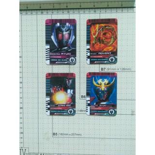 Card Kamen Rider Full bộ thẻ Ryuki 4 thẻ