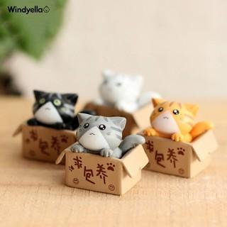 Tượng mèo mini trang trí hòn non bộ