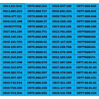 SIM SỐ ĐẸP VINAPHONE ĐỒNG GIÁ 390K DK ĐƯỢC HEY90 , D60G , D30G – SIM NGỌC MAI – LOẠI 2 (giá khai trương )