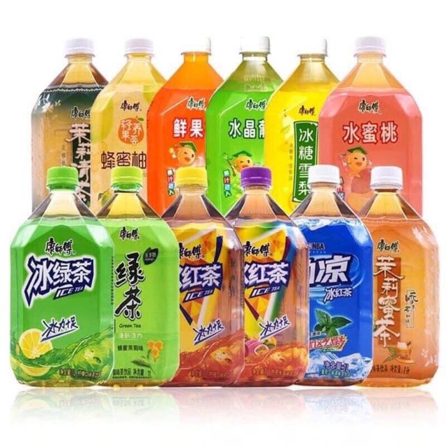 [ COMBO 5 CHAI ] Mix vị khác nhau - Nước lê, nước nhài, nước chanh, nước đào, nước nho