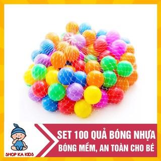 [ Bán sỉ/ lẻ ] Túi 100 bóng nhựa cho bé