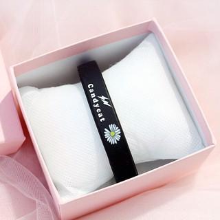 Vòng đeo tay Cadycat VTHC05 cao su họa tiết Hoa Cúc tuyệt đẹp 8