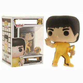 Cartoon Figure Doll Funko Pop Movies Bruce Lee Game of Death Exclusive Vinyl Figure