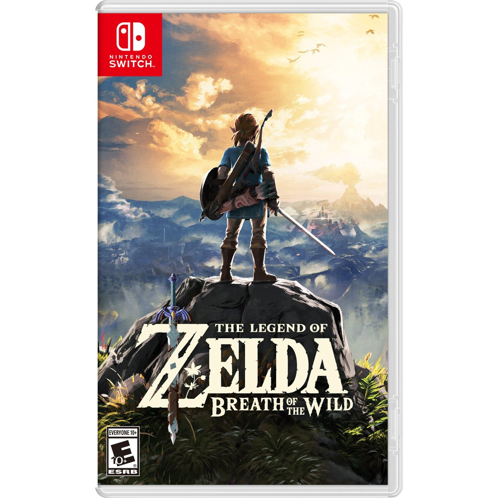 thẻ game Switch THE LEGEND OF ZELDA BREATH OF THE WILD