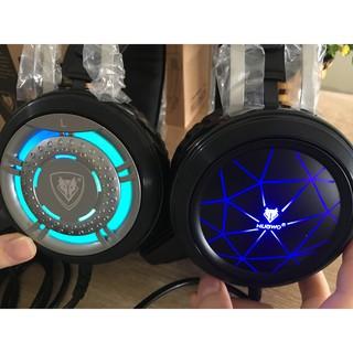 Tai nghe chụp tai game thủ Nubwo N1 có LED – Dành cho máy tính, chơi game, nghe nhạc-Bảo hành chính hãng 1 năm