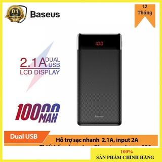 Pin sạc dự phòng nhỏ gọn Baseus Mini Cu Power Bank 10000mAh (5V/ 2.1A, 2 USB port)