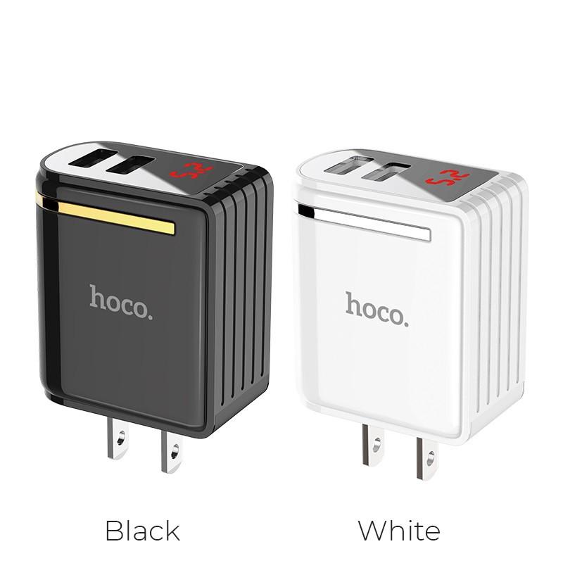 Cóc sạc nhanh Hoco C39 2 cổng USB-Dành cho mọi thiết bị