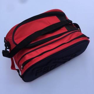 Túi đựng giày 2 ngăn logo ép nổi, Túi đựng giày đá bóng thể thao