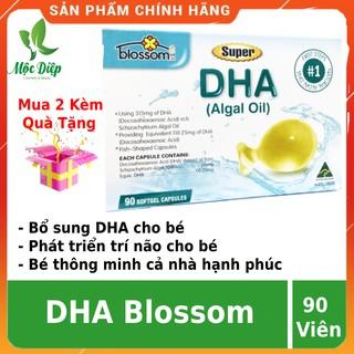 Viên uống DHA blossom cho bé CHÍNH HÃNG DHA cho bé Úc giúp phát triển trí não,bé thông minh hơn thumbnail