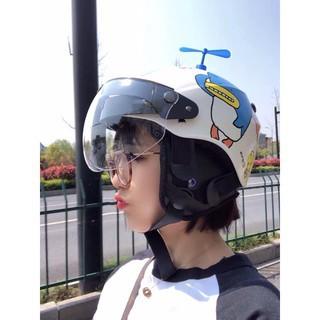 [MUA 1 ĐƯỢC 2] Chong chóng gắn mũ bảo hiểm gắn xe cute hot trend 2019