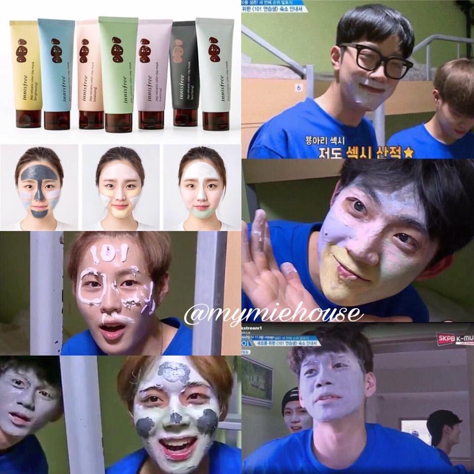 Mặt Nạ Cho Từng Vùng Da – Jeju Volcanic Color Clay Mask