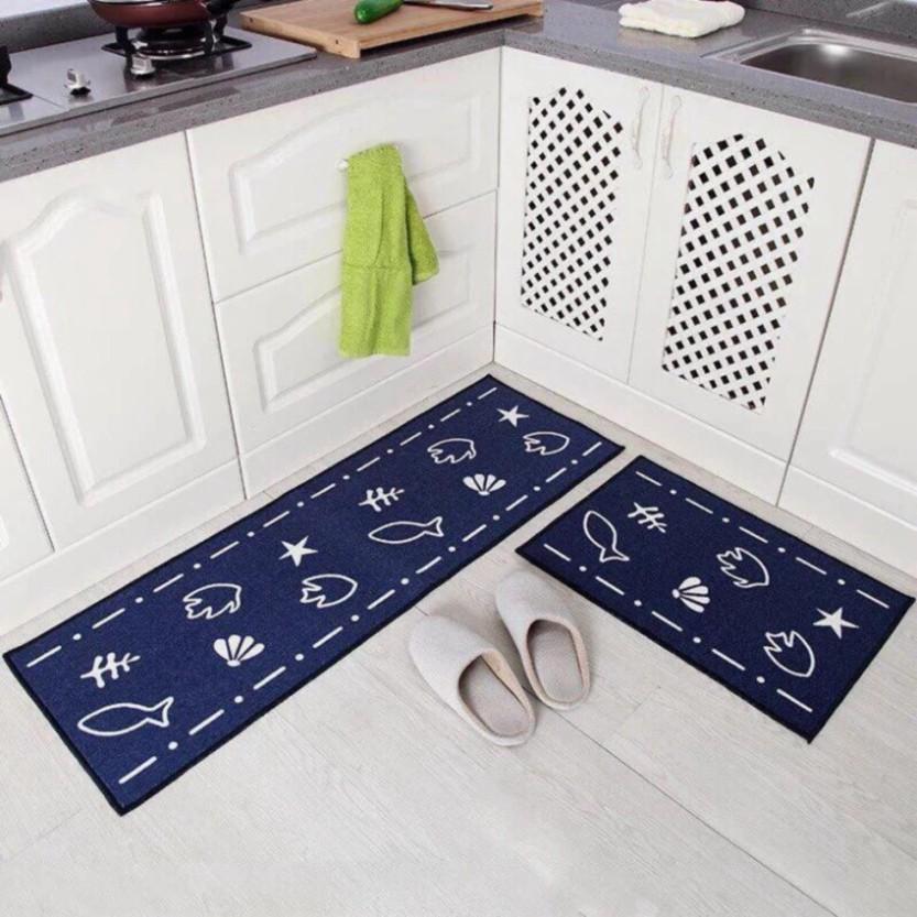 hàng mới Thảm nhà bếp KT 120cmx40 và 60x40cm có thể giao họa tiết ngẫu nhiên (ảnh thật sp)