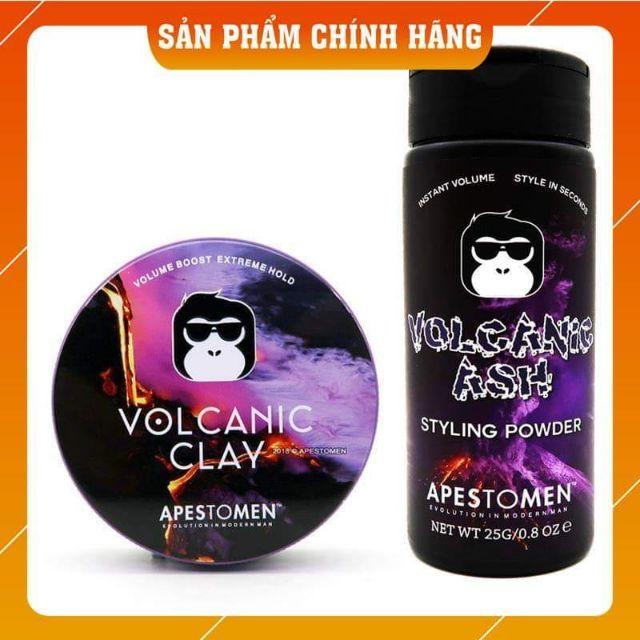 [Chính Hãng TEM Check SMS] Sáp Vuốt Tóc Apestomen Volcanic Clay hoặc Volcanic Ash Styling Powder