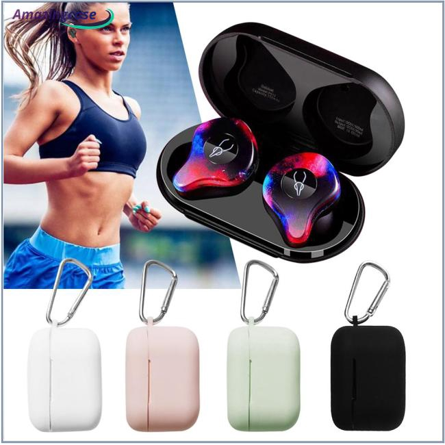 TPU Silicone Bluetooth Wireless Earphone Case Protective Cover Skin Accessory for X12 PRO
