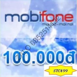 Thẻ Mobifone 100k - Nạp trực tiếp qua mobi