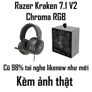 CHI NH HA NG RAZER - Tai nghe Razer Kraken 7.1 V2 Chroma thumbnail