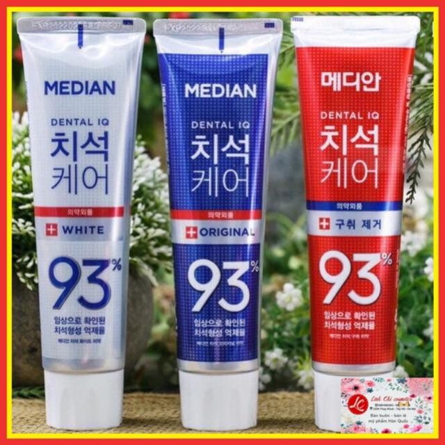 [Mã COSHOT03 giảm 10% đơn 350K] Kem đánh răng Hàn Quốc Median Dental 93%