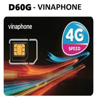Sim vina 4G D60G tốc độ cao 720GB /1 năm sử dụng ưu đãi