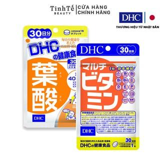Combo viên uống bổ sung Vitamin DHC 30 ngày dành cho bà bầu viên uống Folic 30 ngày và viên uống tổng hợp 30 ngày thumbnail
