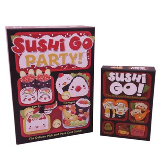 Sushi Go Party! Card Board Puzzle Game Family Gathering Adult Children Kids Toys