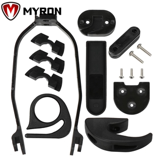 MYRON High Quality Rigid Support Damping For XIAOMI Fender Bracket Rear Mudguard Bracket M365/M187 M365 PRO Electric Scooter Accessories Black/Red Silicone Case Dashboard Cover Parts/Multicolor