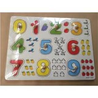 Bảng 10 số tập đếm cho bé 020 có núm   CỰC RẺ