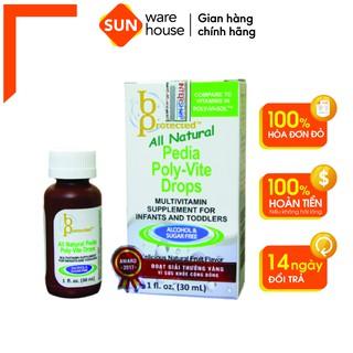 Siro Uống Vitamin Tổng Hợp Cho Trẻ Dưới 4 Tuổi Pedia Poly - Vite Drops 30ml thumbnail