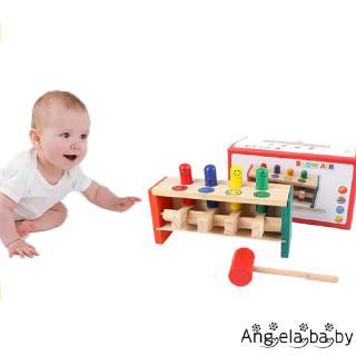 ⓗღ✯new Wooden Knocking Educational Toy Gift for Children