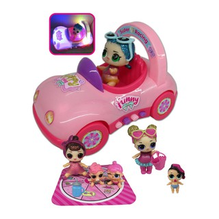 ҉Surprise Doll Picnic Airship Car Playset Baby Figure Topper Souptoys for Kids