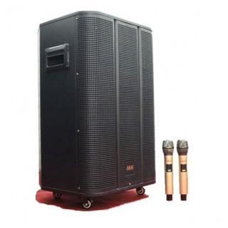 Loa kéo karaoke di động AKAI AD-215, Loa kéo bluetooth bass 4 tấc công suất lớn + Tặng 2 micro lọc âm giảm hú thumbnail