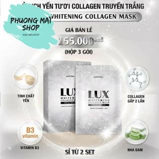 Ủ Dịch Yến Tươi Collagen Truyền Trắng Lux soHERBs